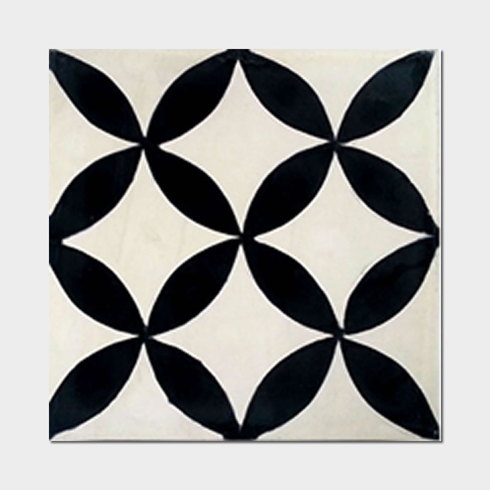 12 X 12 Decorative Tiles Classy Pack Of 12 Amlo Circle Handmade Cement And Granite 8Inch X 8Inch Design Ideas