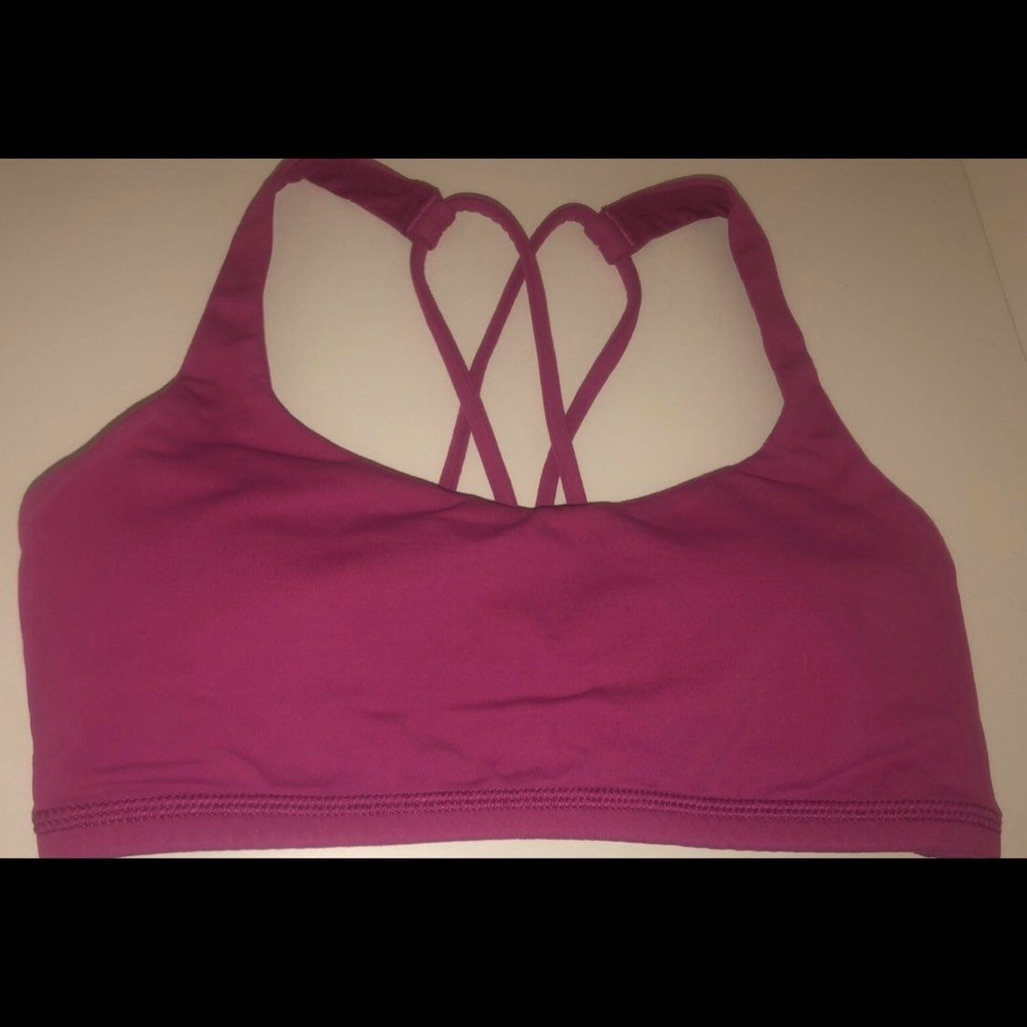 perfect condition worn only 2 times removable pads size 2