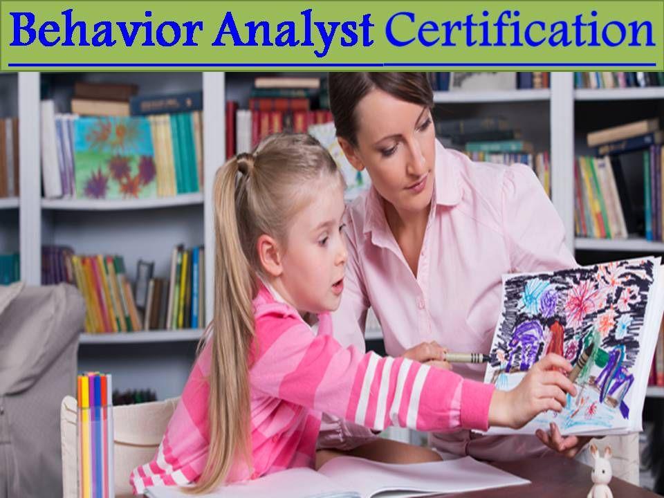 RBT® Credential Behavior analyst, Credentials, Behavior