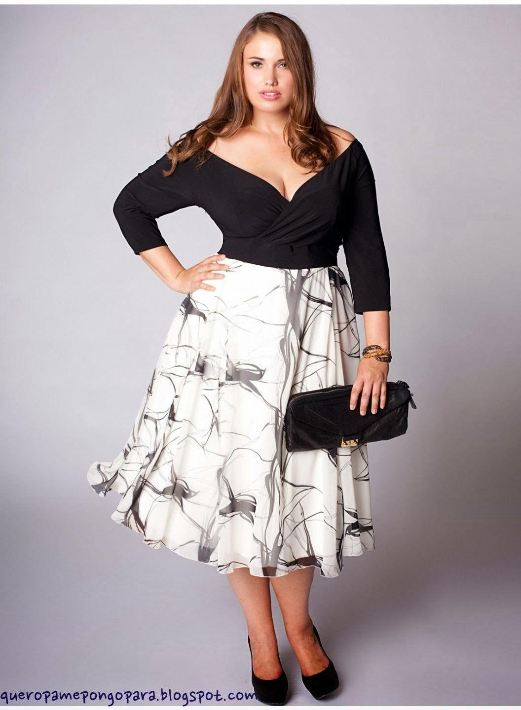 Imagenes de mujeres gorditas con vestido