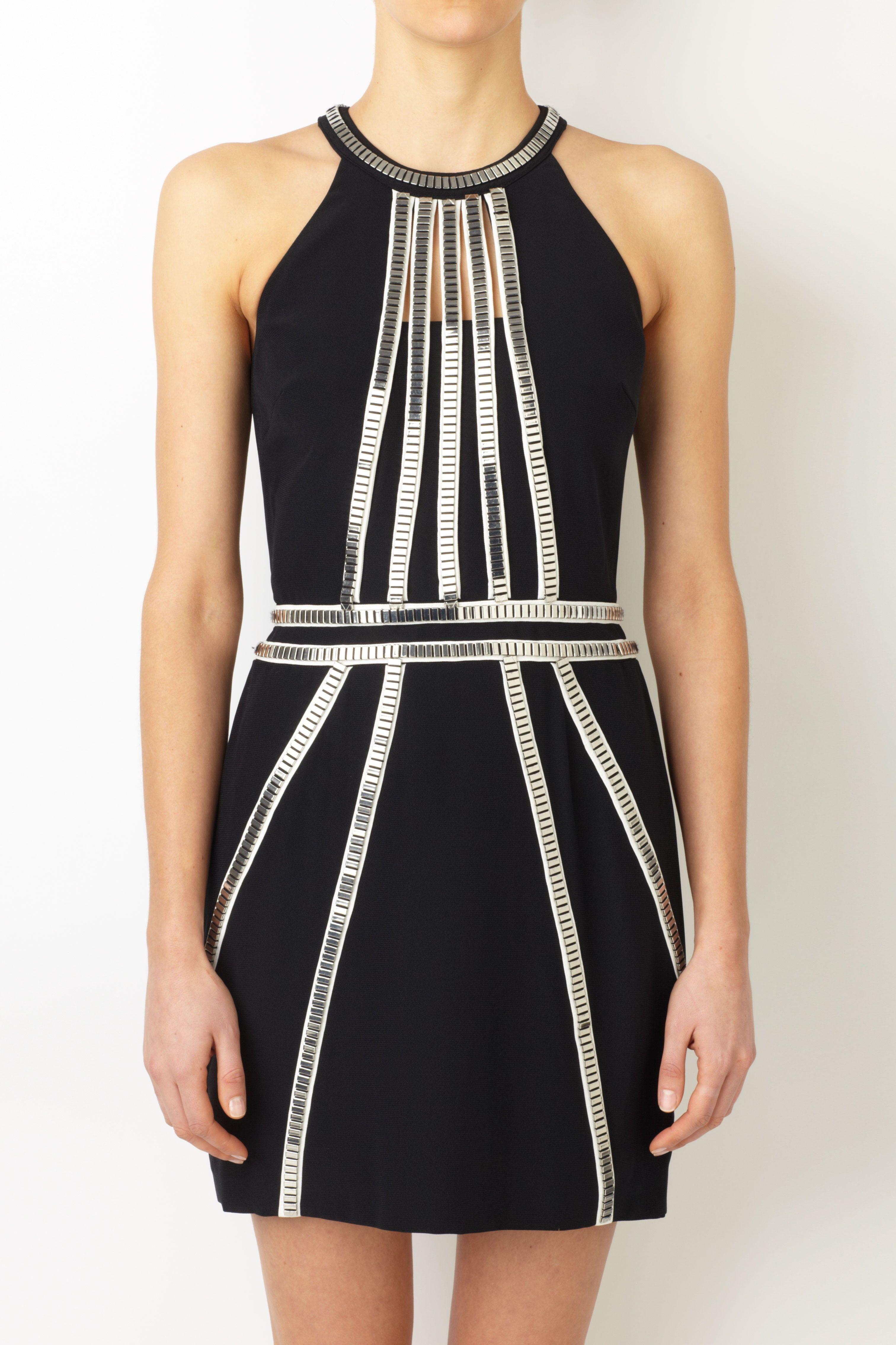 Sass Bide The Top Dog Black Silver Dresses Sass Bide Clothes Design Clothes For Women Fashion