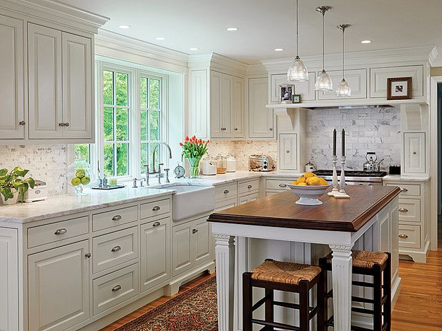 Custom Kitchen by Scandia Kitchens; Photography by Richard