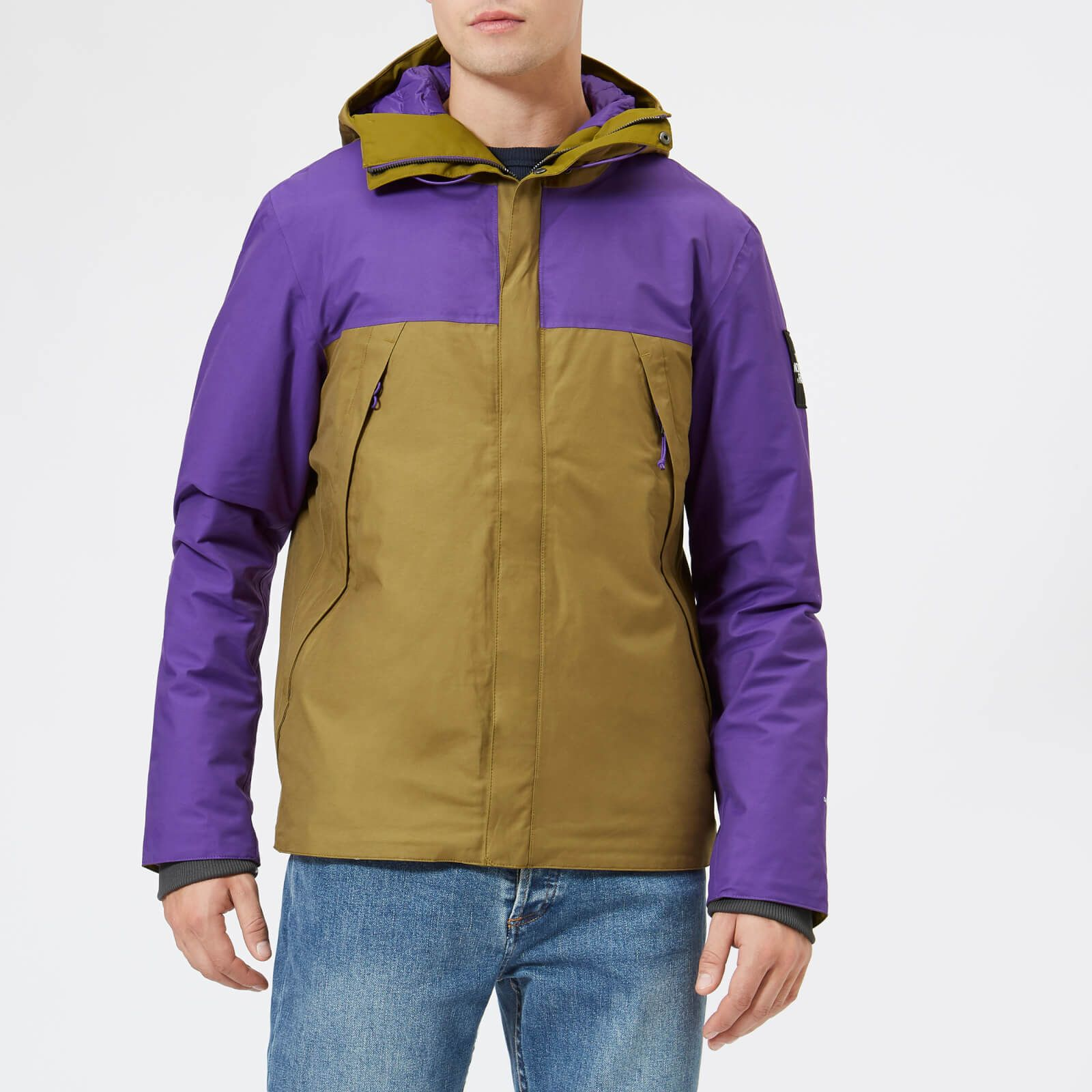 The North Face Men S 1990 Thermoball Mountain Jacket Fir Green Tillandsia Purple Mountain Jacket North Face Mens Jackets [ 1600 x 1600 Pixel ]
