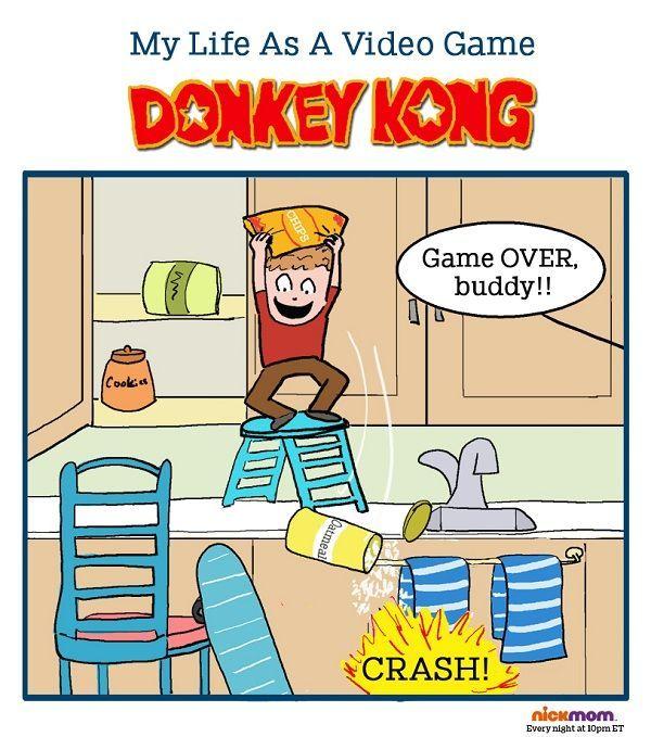#Truth #lols #video #game #Funny #Videogame #Gaming #References #Reality #Real #Life #Joke #Geek #Nerd #humor #Funny #Winning #Laugh #Logic #Gamer #Mario #DK #Donkey #Kong