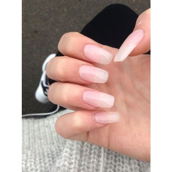 clear matte acrylic nails - Google Search | Nails | Pinterest ...