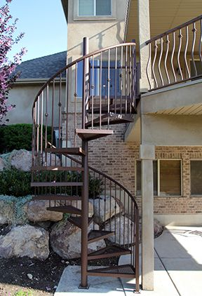 Improving your stairs? Choose quality materials from a Wide Selection of Wrought Iron Balusters !