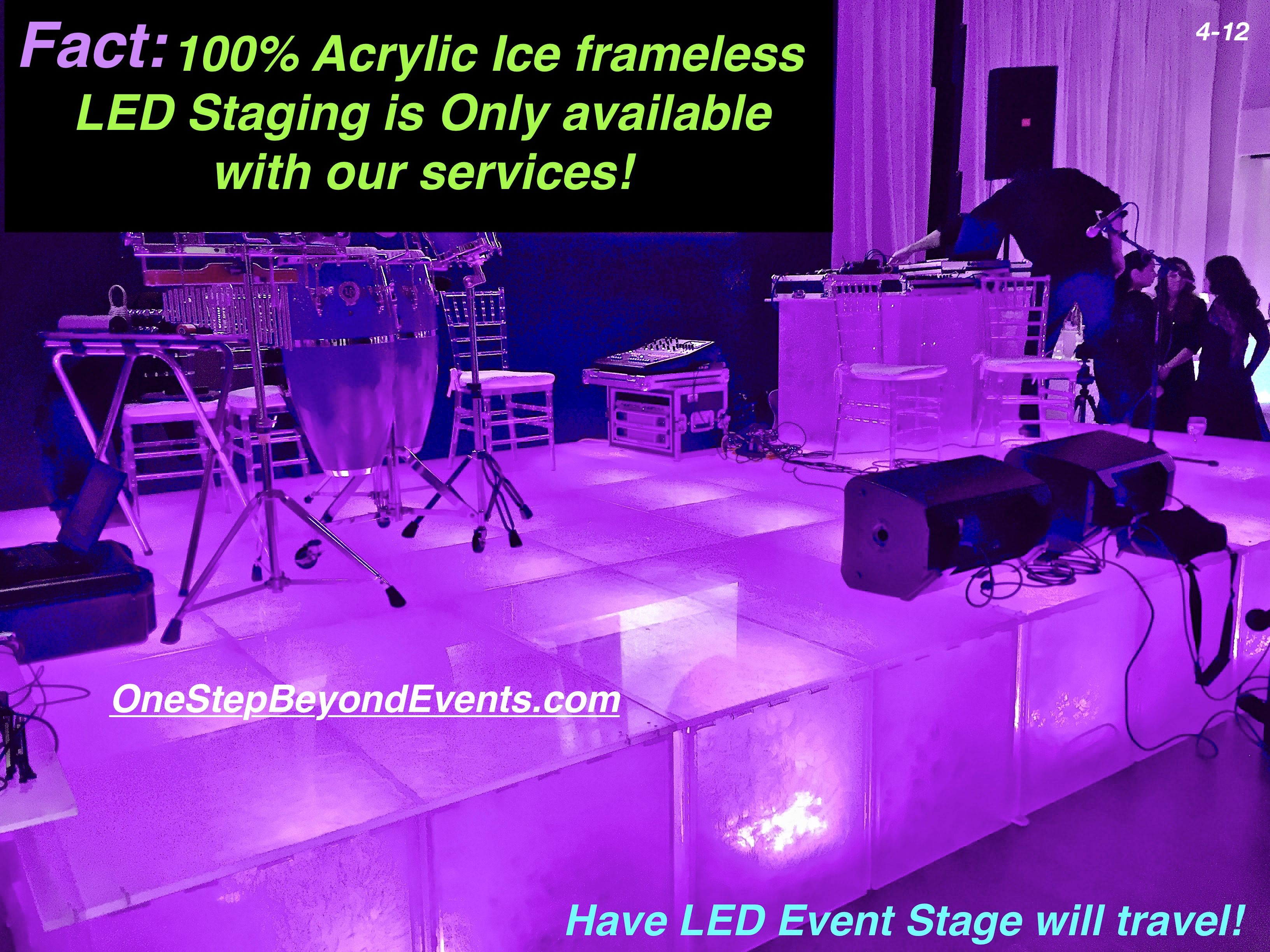 Pin On Special Event Led Light Up Staging Rentals