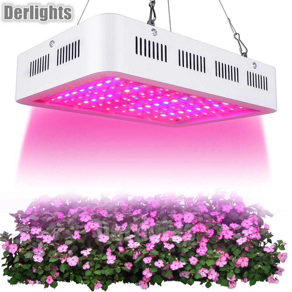 Comprar Led Crece La Luz 1000 W Espectro Completo Lampara De La Planta Para El Invernadero De Interior Crece La Tienda Siembra De Plantas Floracion Crecien Light