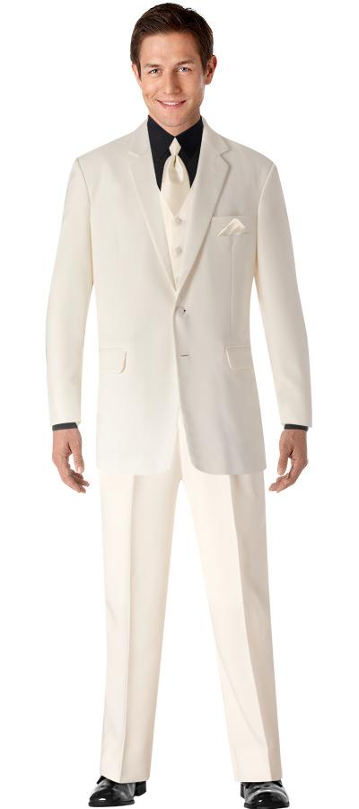 ivory wedding tux | Wedding Ideas | Pinterest | Wedding tux ...