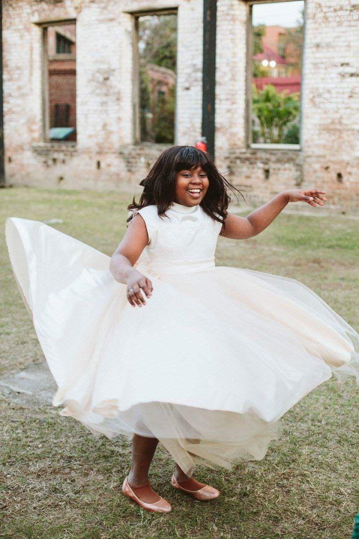 Girls wedding dress  Pin by jordan linson wedding on our wedding  Pinterest  Weddings
