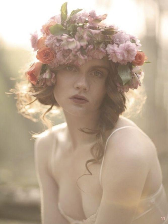 30 Beautiful Boho Flower Crowns + DIY Tutorials   Bridal Musings   A Chic and Unique Wedding Blog