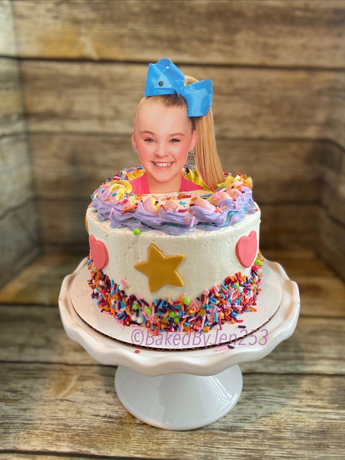 JoJo Siwa cake in 2020 Cake, Birthday cake, Desserts