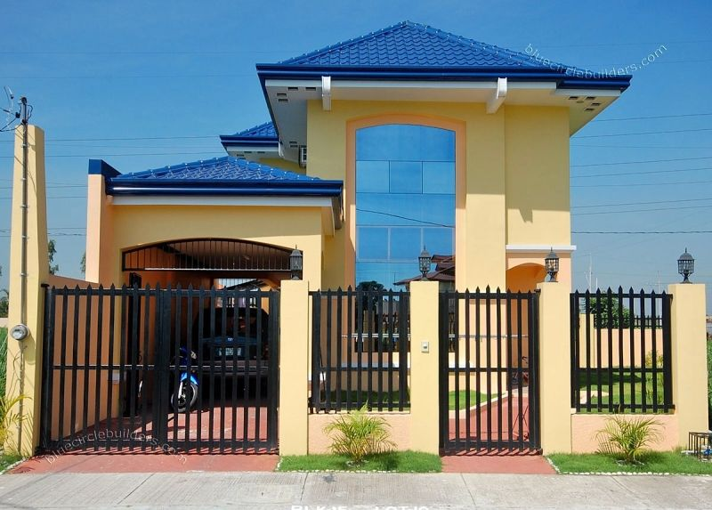 Affordable Simple Beautiful Filipino Home L Regular House Designs Philippines With Images House Fence Design House Gate Design Simple House Design