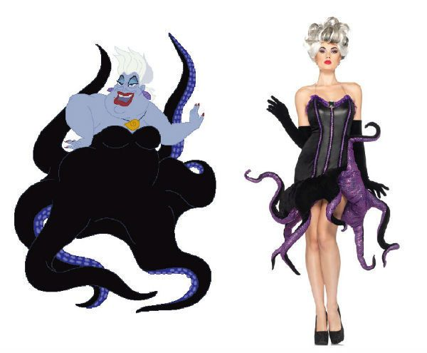 Ursula, The Little Mermaid | Community Post: 16 Ridiculously Good-Looking Disney Costumes You Can Actually Buy