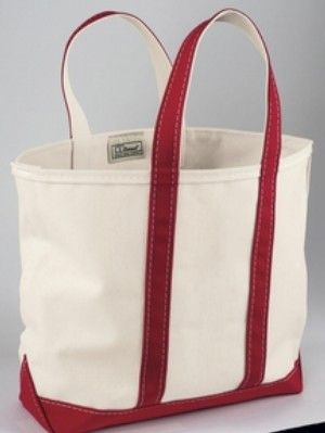 L Bean Tote Bag Is A Staple Not Just For The Beach Or Carrying Wood
