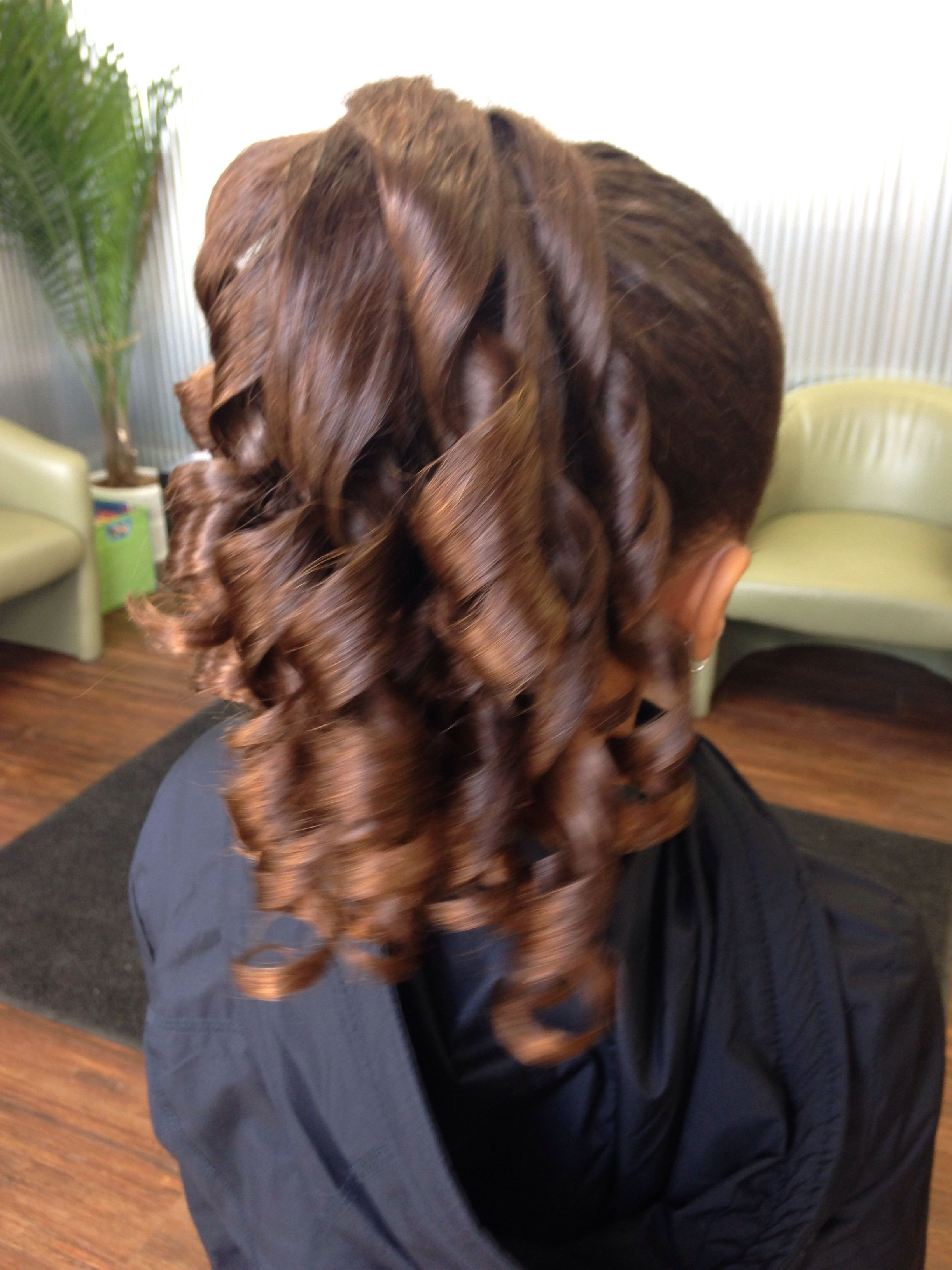Curly Ponytail Dance Recital Hair Styles Ponytail Hairstyles Ponytail Hairstyles Easy