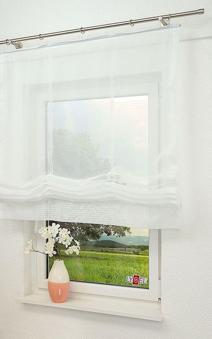 Artikelbild Raffrollo Stil #E Wohnzimmer Pinterest Living - Raffrollo Für Wohnzimmer