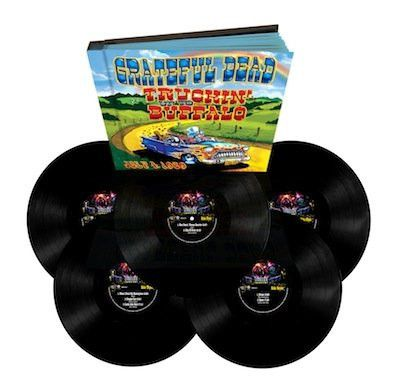 Grateful Dead | Truckin' Up to Buffalo: July 4, 1989 | Limited Edition Numbered 180g 5LP Box Set (Pre-order)