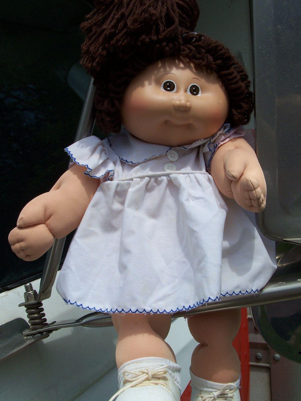 Cabbage Patch Kids Girl Doll 1982 Brown Hair By Sweetangelpie 109 95 Cabbage Patch Babies Cabbage Patch Dolls Brown Hair Brown Eyes