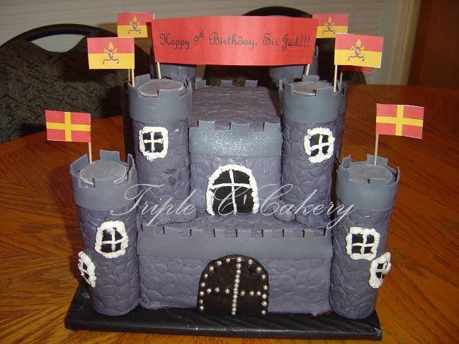 best boys castle cake | Afmæli | Cakes for boys, Boy