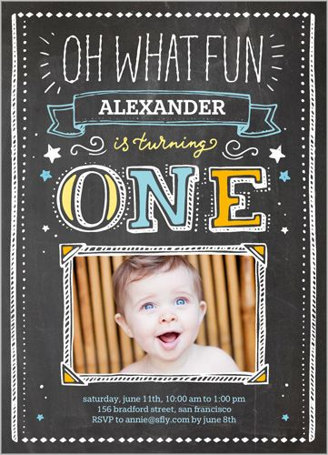 Oh What Fun Boy 5x7 Stationery Card by Yours Truly Shutterfly