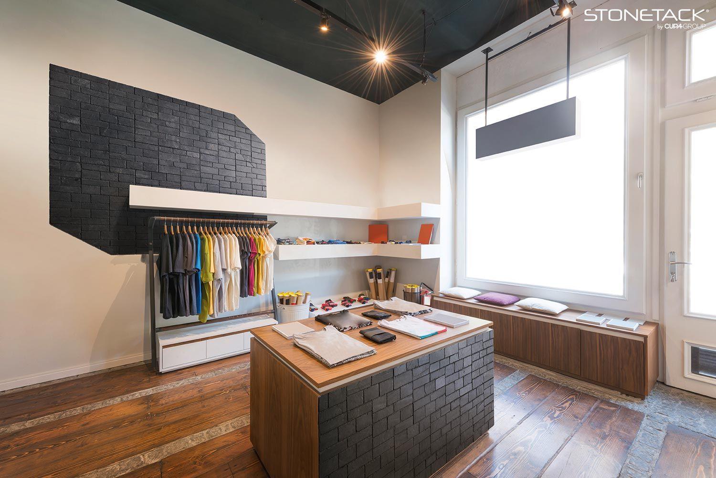 Utiliza Stonetack® para darle un toque especial a tu negocio | #stonetack #piedra #pared #interior #interiorismo #decoración #inspiración