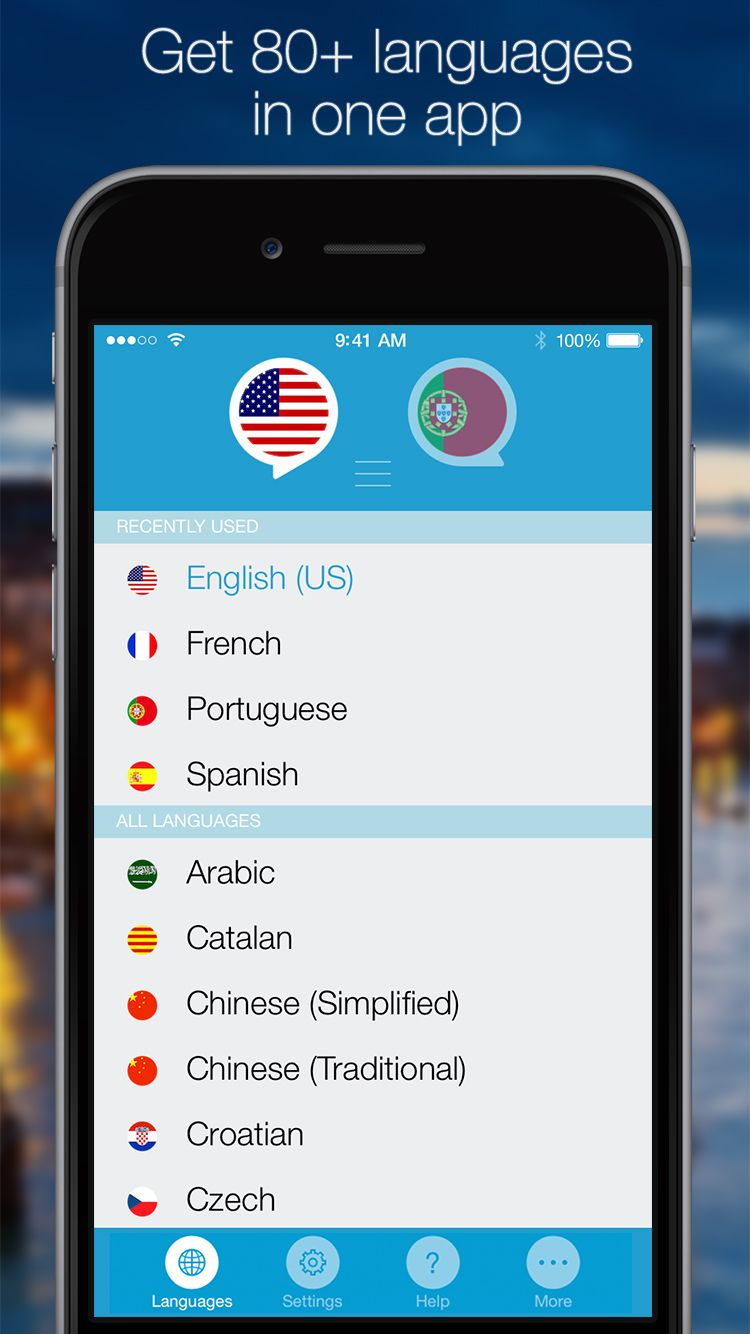 Almost 90 languages in the app! Get NOW https//itunes