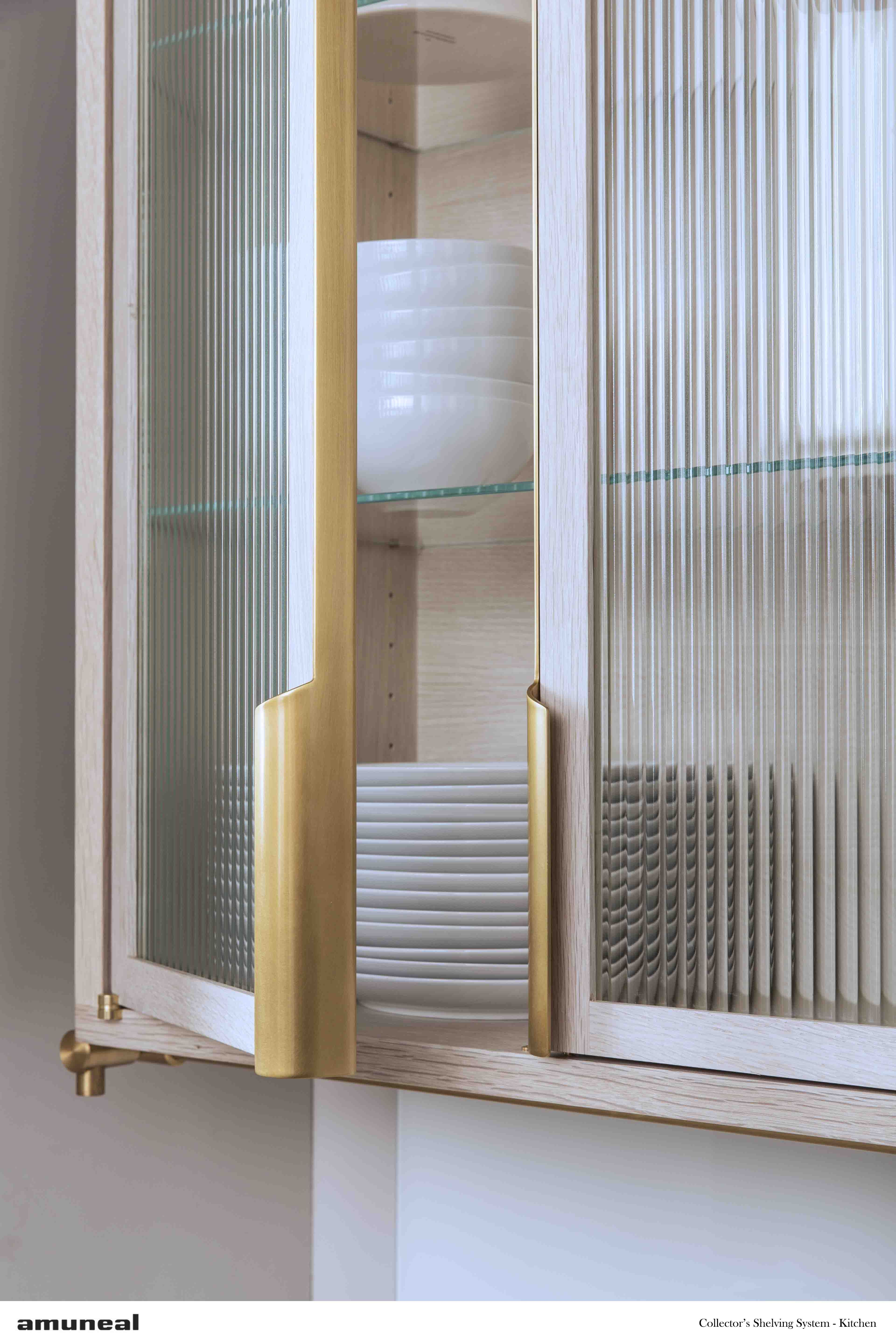Cabinet Hardware Almost Invisible But Tastefully Present With