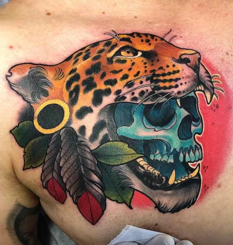 Jaguar Tattoos Tattoo Insider Tatuaje De Jaguar Tatuaje De Tigre Tatuajes Mayas