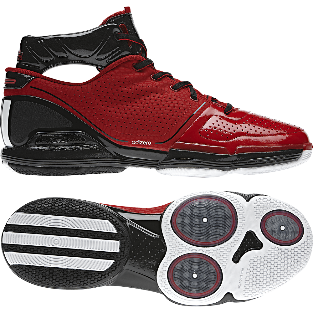 the latest 0b126 ffc47 derrick-rose-shoes-adidas-adizero-rose-1-red-G22538