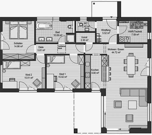 Haas BT 133 A von Haas Haus