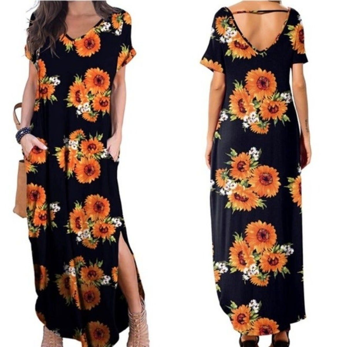 Pin By Deanna Powers On Clothing Maxi Dress Floral Dress Outfits Dresses [ 1200 x 1200 Pixel ]