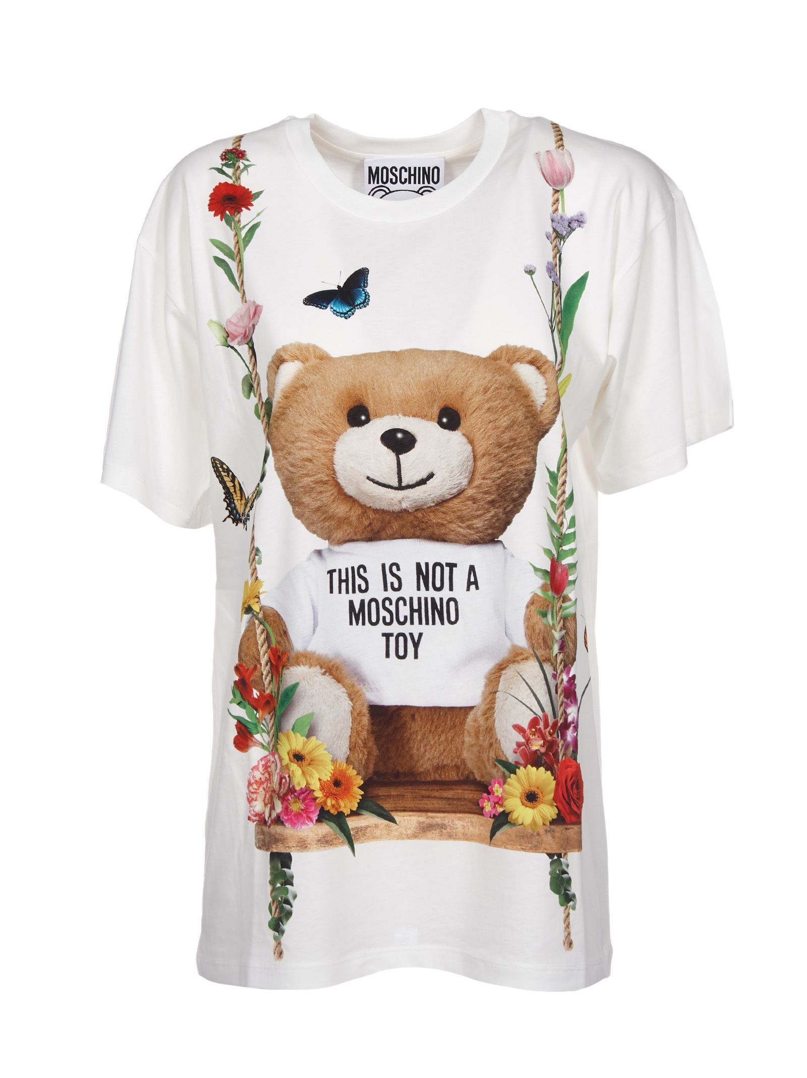 cc9b918bc0 MOSCHINO FLORAL TEDDY BEAR T-SHIRT.  moschino  cloth
