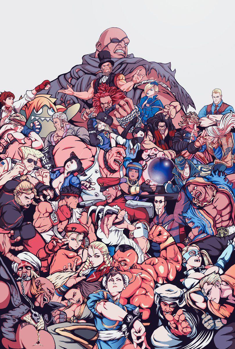 Street Fighter 5 Latest Roster Street Fighter Wallpaper