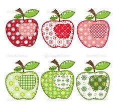 Resultado de imagen de dibujos de frutas para patchwork  MANTELES