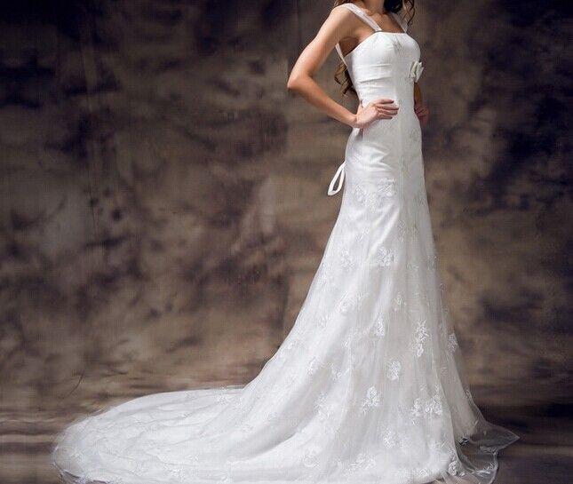 Elegant Square Neck Embroidery Lace Flower Bowknot Decorated Vintage Wedding Dress For Bride Color: WHITE Size: 2, 4, 6, 8, 10, 12, 14, 16, 16W, 18W, 20W, 22W, 24W, 26W Category: Wedding & Events > Wedding Dresses > Mermaid Wedding Dresses   Silhouette: Mermaid  Train: Chapel Train  Embellishment: Appliques  Neckline: Square  Sleeve Length: Sleeveless      Season: Summer  Style: Elegant/Luxurious     #laceweddingdressforsummer #laceweddingdress #dressforsummer #weddingdress #bridgat.com