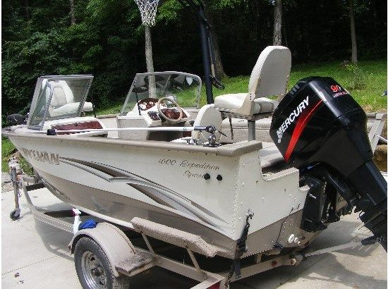 2004 Sylvan 1600 EXPEDITION SPORT | Power boats for sale