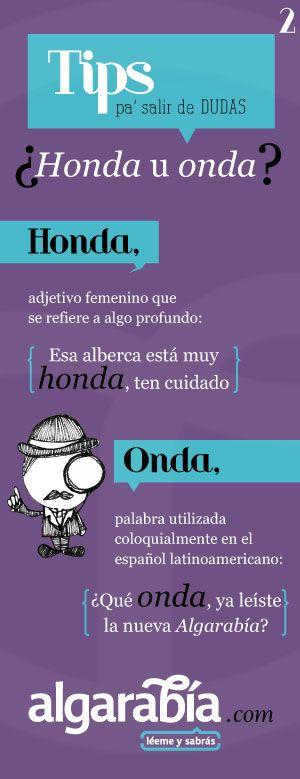 Honda U Onda Parte 2 Ortografía Aprender Ortografia Y