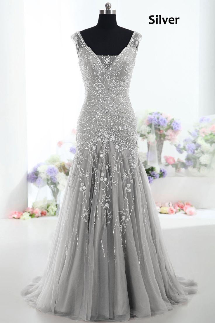 Best 25+ Silver wedding dresses ideas on Pinterest | Silver ...