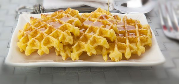 Perfect Breakfast, or Lunch, or Dinner!  Mrs. Harding's Waffles