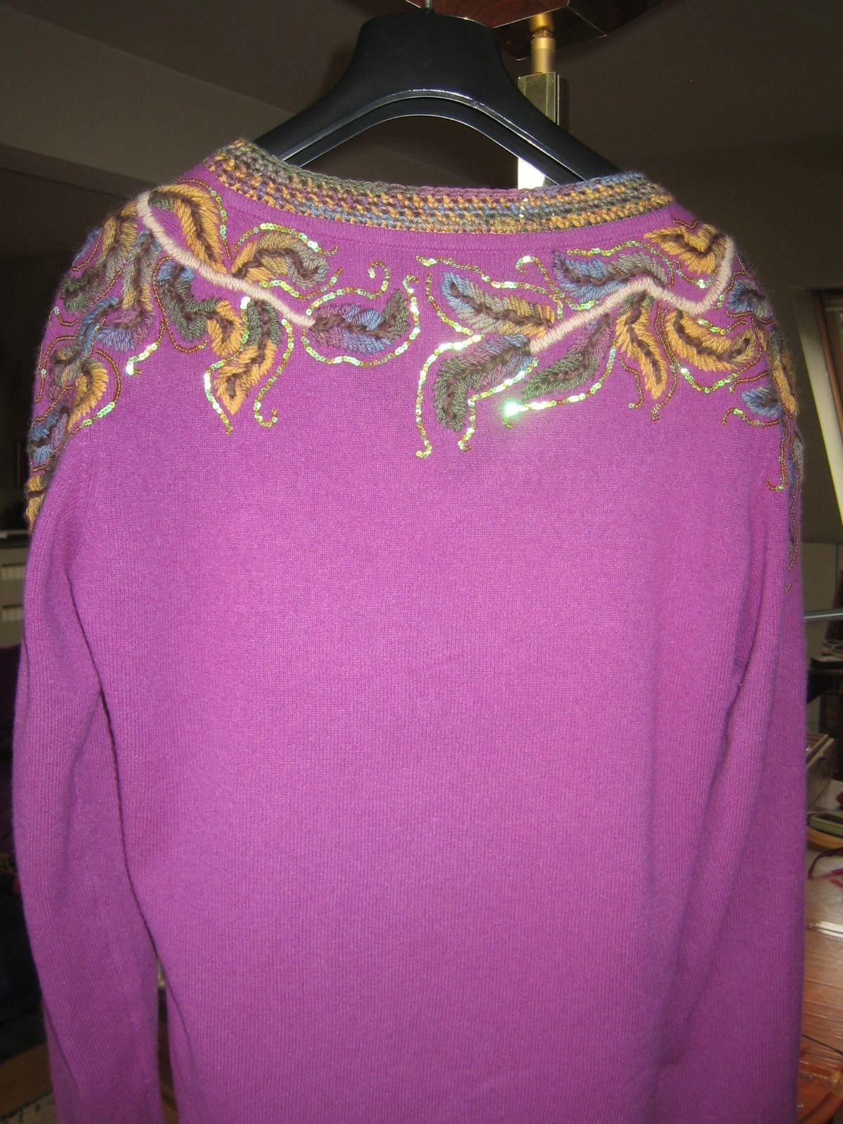Embelished sweater