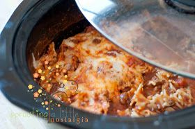 sprouting a little nostalgia: Italian Crock Pot Stew