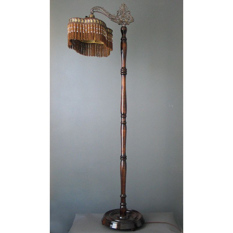 Image result for antique victorian floor lamps floor for Victorian wooden floor lamp