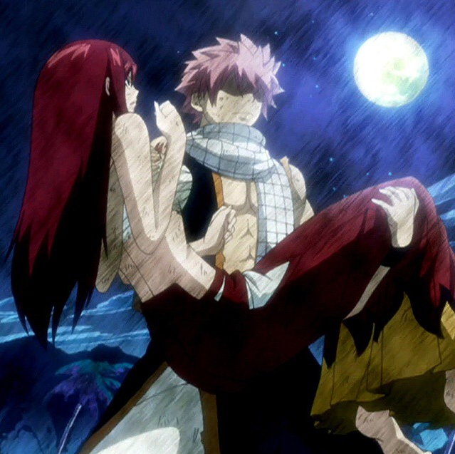 Natsu & Erza Fairy tail personnage, Fairy tail, Anime