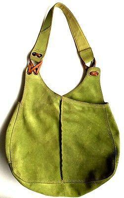 LUCKY BRAND\' Vintage Inspired HOBO Green
