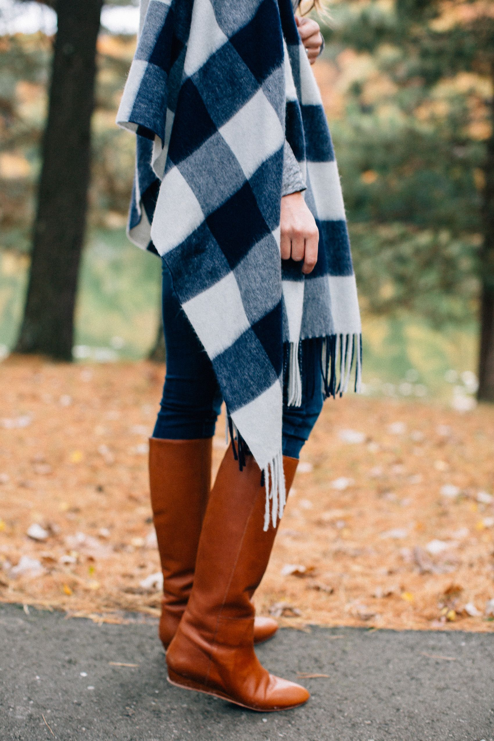 the best brown riding boots for fall #fall #ridingboots #plaid