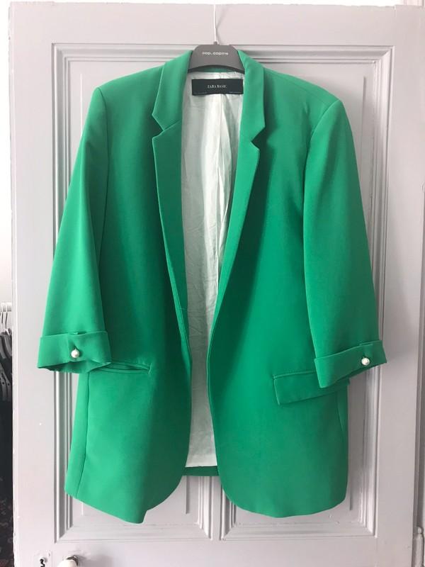 Manteau vert Zara T. L Vinted