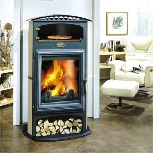 Contemporary Wood Burning Stove With A Pizza Oven On Top Great For Kitchen Contemporary Wood Burning Stoves Wood Burning Stove Wood Burning Fireplace Inserts