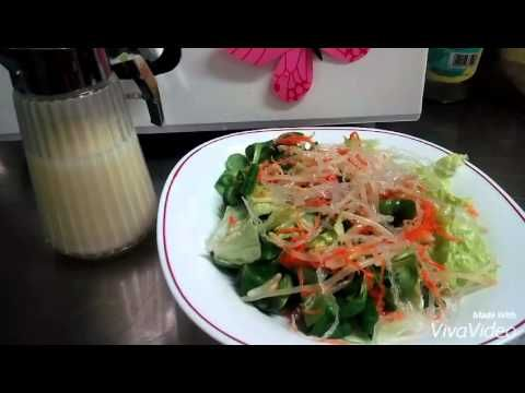 Salsa ensalada china thermomix