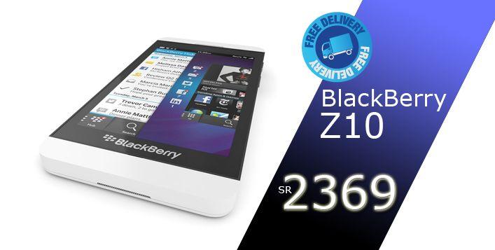 امتلك التقنية الجديدة مع بلاك بيري Z10 من بدائع البركة مقابل 2369 ريال القيمة الحقيقية 2599 ريال متوفر باللون Blackberry Z10 Blackberry Cool Things To Buy
